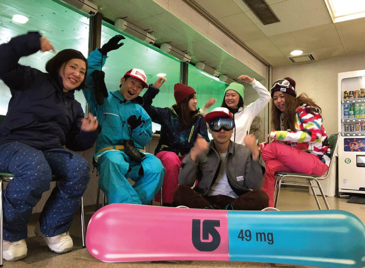 BIG WednesdaySnowboard チーム様